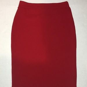 Forever 21| Red pencil skirt | sz M